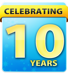 we are proud to celebrate 10 years of professional sprinkler repair service