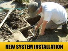 a new system installation done by our Vallejo irrigation repair techs